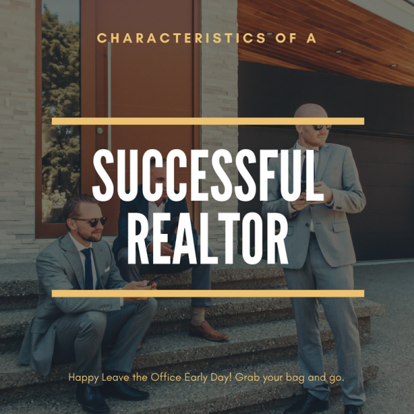 successful real estate agent