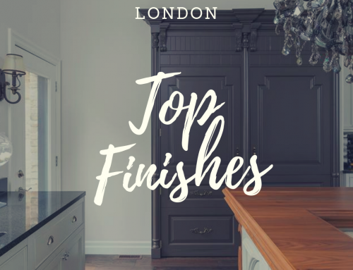 Top Finishes of a Millstone Home