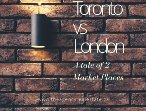 Is London the new Toronto? – A Tale of 2 Real Estate Markets