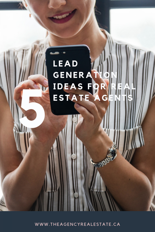 lead generation ideas for real estate agents